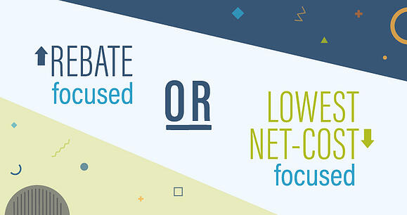 Rebate or Lowest-net-cost formulary